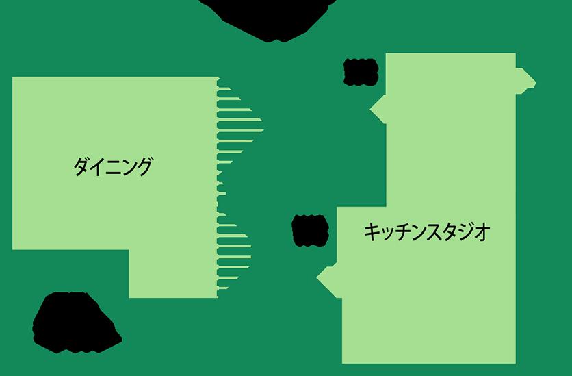 館内1F案内図
