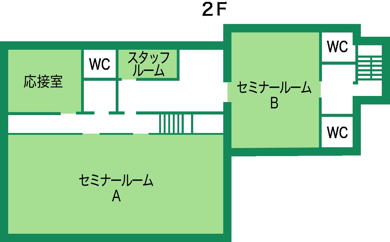 館内2F案内図